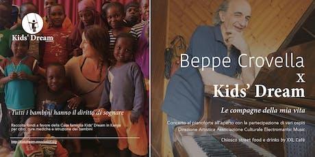 Concerto di beneficenza - Beppe Crovella per Kids' Dream biglietti