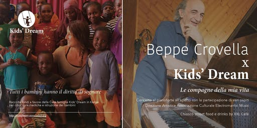 Concerto di beneficenza - Beppe Crovella per Kids' Dream