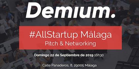 Pitch & Network #AllStartup Málaga entradas