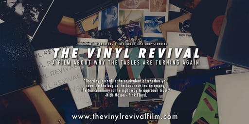 "Film : ""The Vinyl Revival"" hosted by the author Graham Jones"