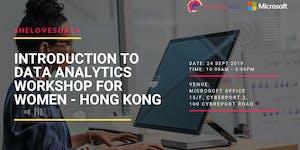 SheLovesData Hong Kong: Intro to Data Workshop for...