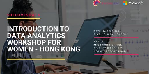 SheLovesData Hong Kong: Intro to Data Workshop for Women (September 2019)