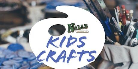 Kids Crafts at Nalls 9/25 tickets