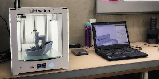 Grundkurs FabLab - 3D Druck