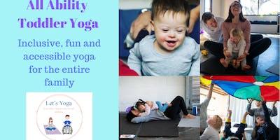 All Ability Toddler Yoga Workshop