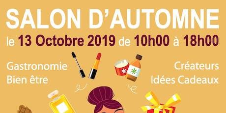 SALON D'AUTOMNE DIMANCHE 13 OCTOBRE POISSY tickets
