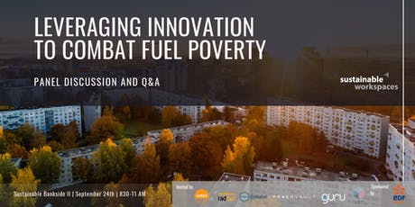 Leveraging Innovation to Combat Fuel Poverty tickets