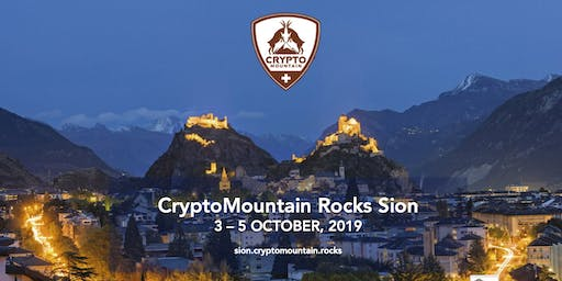 CryptoMountain Rocks in Sion
