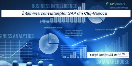 Intalnirea consultantilor SAP din Cluj-Napoca - editia 13 tickets