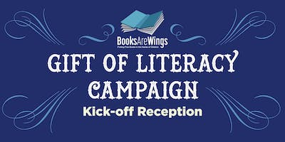 Gift Of Literacy Campaign Kick-off Reception 2019