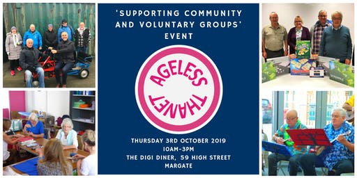 Ageless Thanet: Supporting Community & Volunteers Group Event