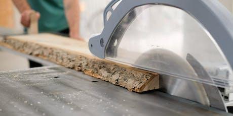 Workshop Holz - Massivholz bearbeiten Tickets