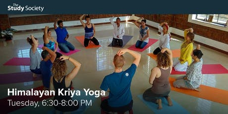 Himalayan Kriya Yoga with Cristina Berar – The Study Society tickets