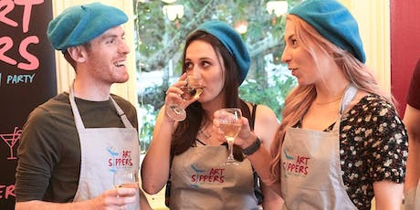 ART SIPPERS - Paint & Sip Experience - ACTON W3 tickets