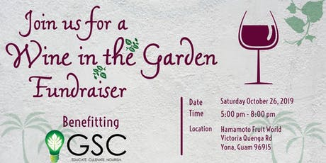 Wine in the Garden Fundraiser tickets