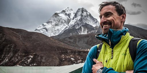 Trek to Everest Base Camp in the footsteps of Kenton Cool