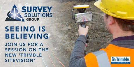 Survey Solutions Group: Trimble SiteVision Demo - Glasgow/Cumbernauld (Afternoon) tickets