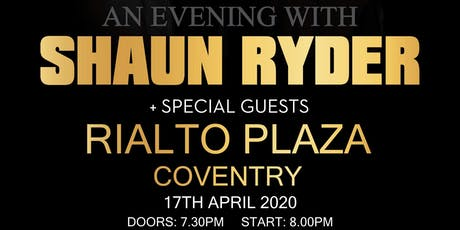 An Evening with Shaun Ryder + Special Guests tickets