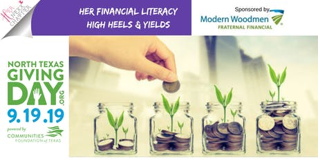 Her Financial Literacy. Giving women the freedom to choose their own future tickets