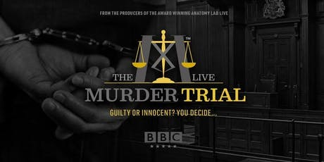 The Murder Trial Live 2019   Leeds 20/10/2019 tickets