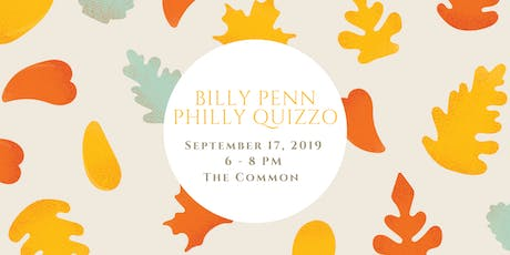 Billy Penn Philly Quizzo - September Edition tickets
