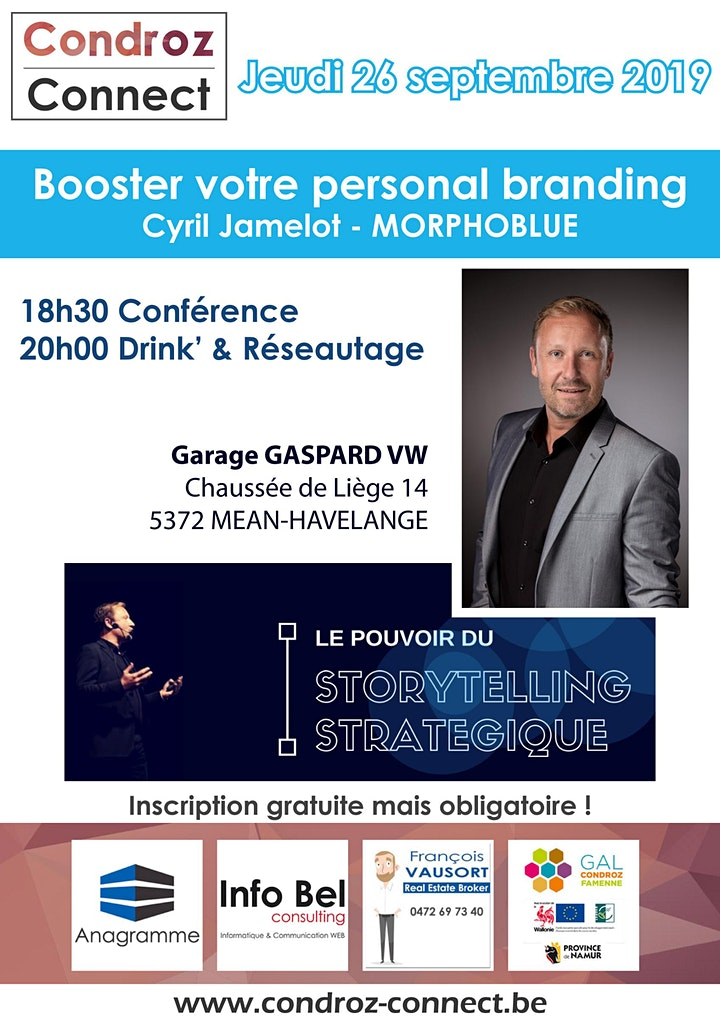 Image pour Condroz Connect - Booster votre personal branding