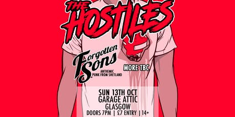 The Hostiles + Forgotten Sons - Glasgow tickets
