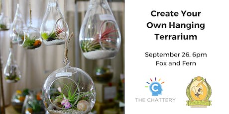 Create Your Own Hanging Terrarium tickets