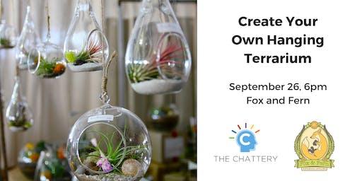 Create Your Own Hanging Terrarium