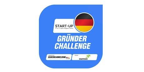 kostenlose Gründer-Challenge Tickets