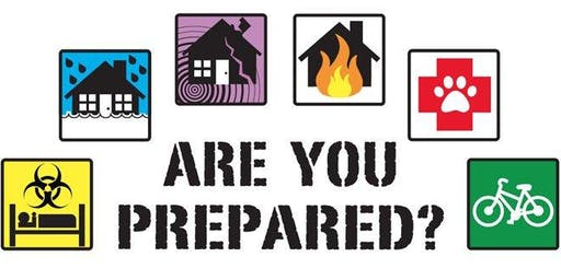 Disaster Preparedness for Churches and Non-Profits (online/livestream)
