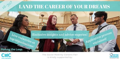Making the Leap Social Mobility Careers Fair 2019 tickets
