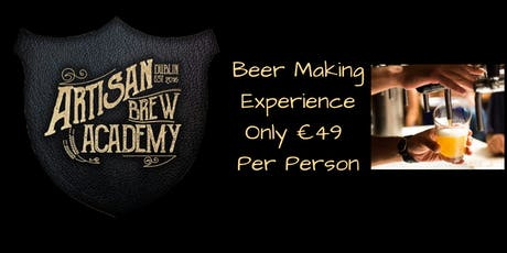 Beer Making Experience Saturday September 21st 2019 tickets