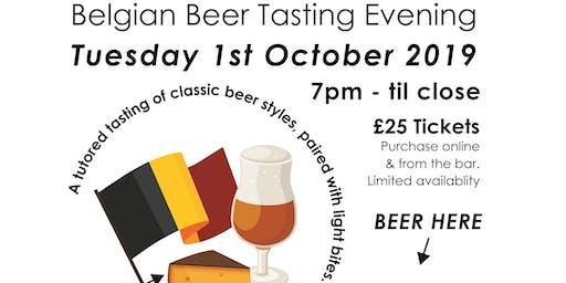 Tutored Belgian Beer Tasting Evening @A Hoppy Place