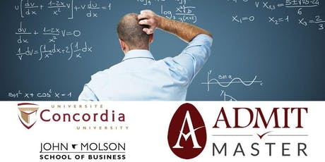 Free GMAT Math Refresher Class (Montreal) tickets