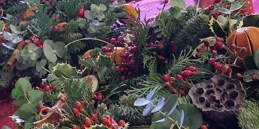 Christmas Wreath Making Masterclass