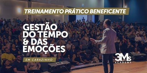 TREINAMENTO BENEFICENTE: GESTÃO DO TEMPO E DAS EMOÇÕES - Carazinho/RS