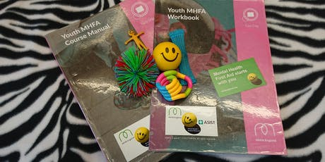 MHFA England Mental Health First Aider 2 Day Certification Workshop (Youth) tickets