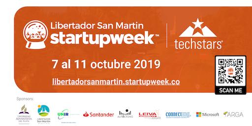 Libertador San Martín Startupweek por TechStars