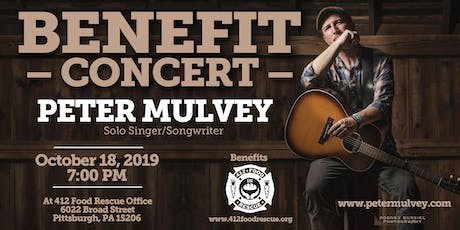 Benefit Concert featuring Peter Mulvey tickets
