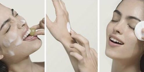 CAUDALIE animatie met huidanalyse