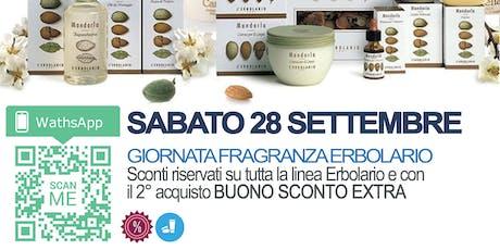 OPENDAY  FRAGRANZE ERBOLARIO(sconti) biglietti