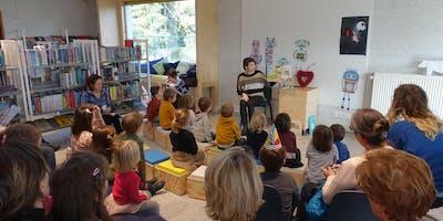 Voorlezen en knutselen : Dinosaurussen (4 - 8 jaar)