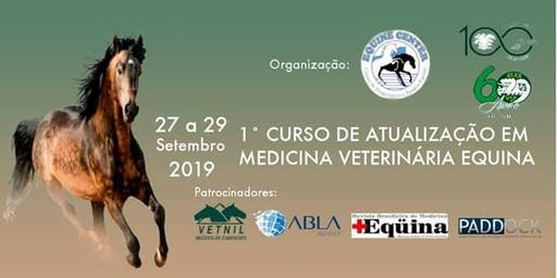 1º Curso de Atualização em Medicina Veterinária Equina