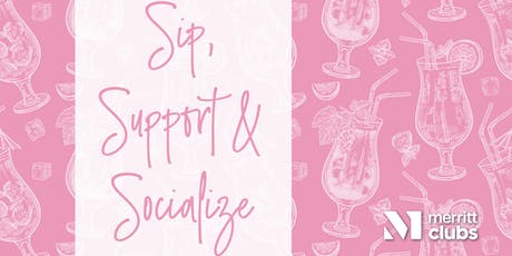 Sip, Support & Socialize tickets