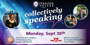 Fearless Voices - Inspirational Speaker Series in York...