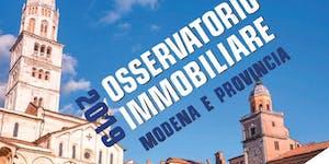 MODENA | 20/09/2019 | Presentazione Osservatorio...