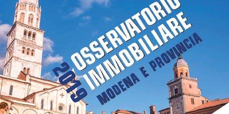 MODENA | 20/09/2019 | Presentazione Osservatorio Immobiliare biglietti