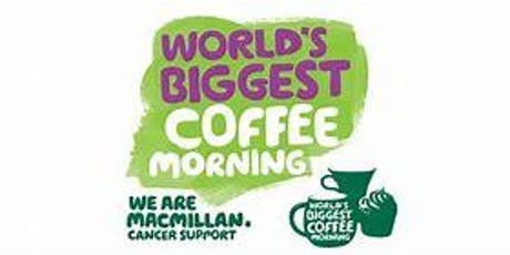 MacMillan Coffee Morning- Sunflower Hyde tickets