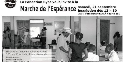 Marche de l'Espérance - Fondation Byas